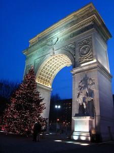 Washington Arch in Washington Square Park