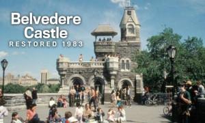 Belvedere Castle Restored 1983