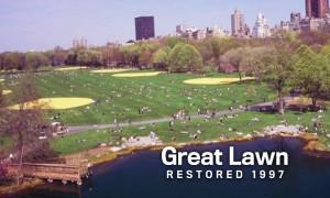 Great Lawn Restored 1997
