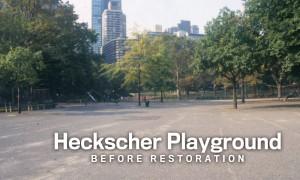 Heckscher Playground Before Restoration