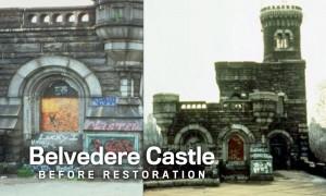 Belvedere Castle Before Restoration