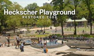 Heckscher Playground Restored 2006