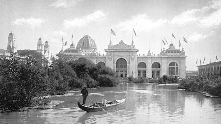 Gondolas at the 1898 World's Fair in Chicago